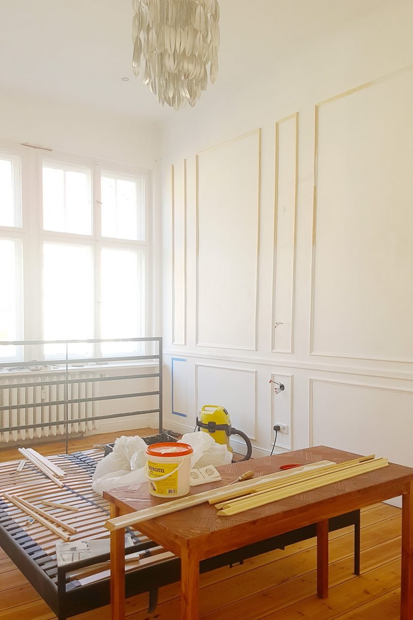 How To Plan & Install Panelling | Little House On The Corner