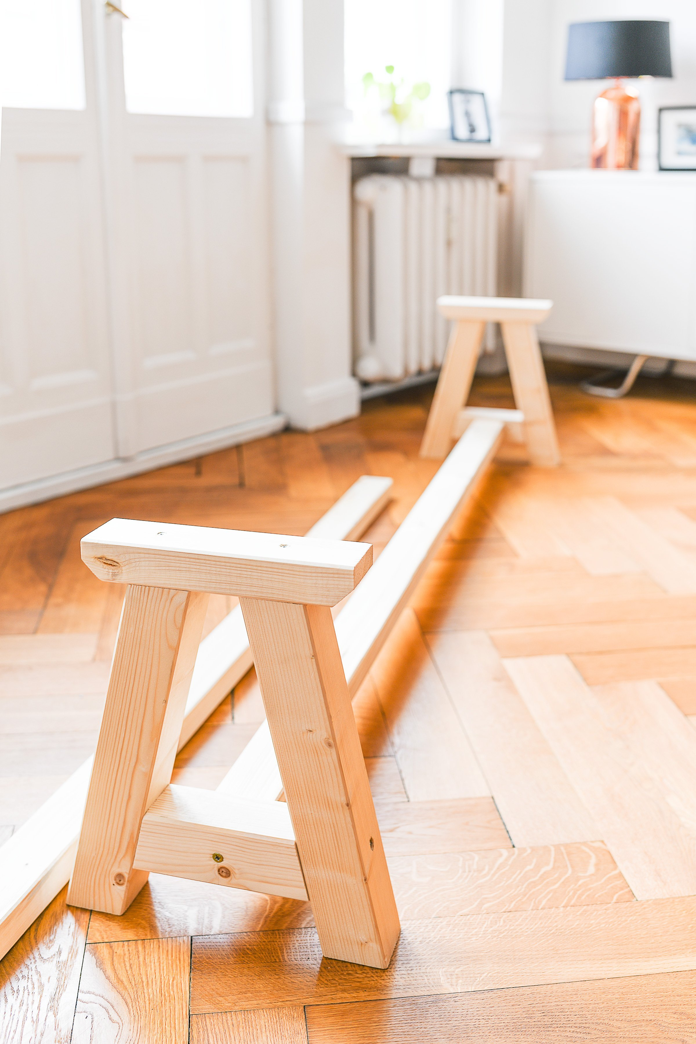 DIY Dining Room Bench - Cutting | Little House On The Corner