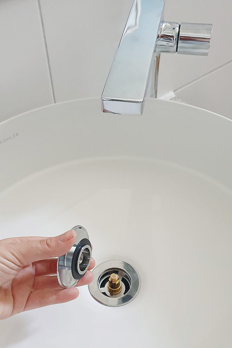 How To Install A Vessel Basin | Little House On The Corner