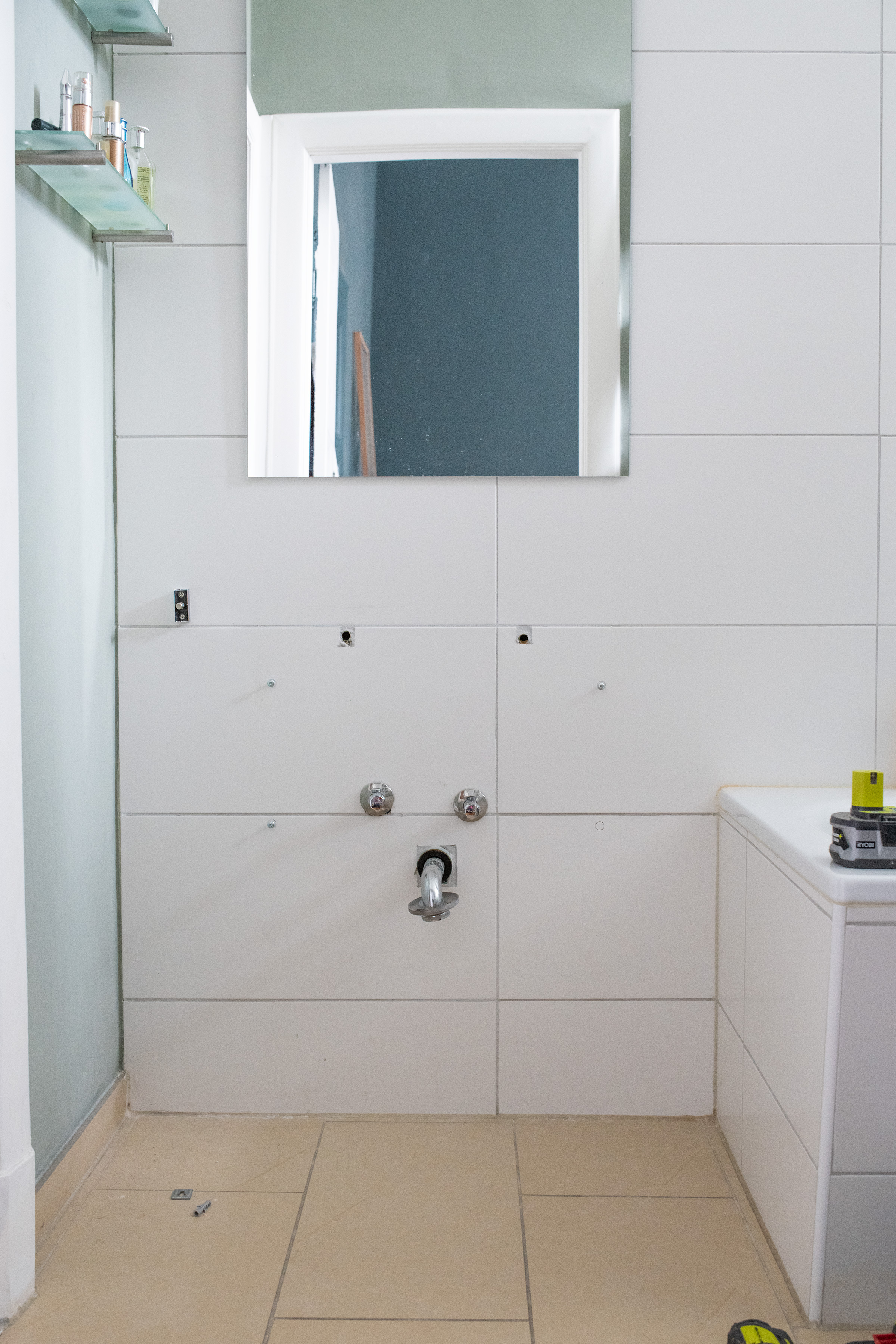 How To Install A Tap - Installing A Vanity Unit | Little House On The Corner