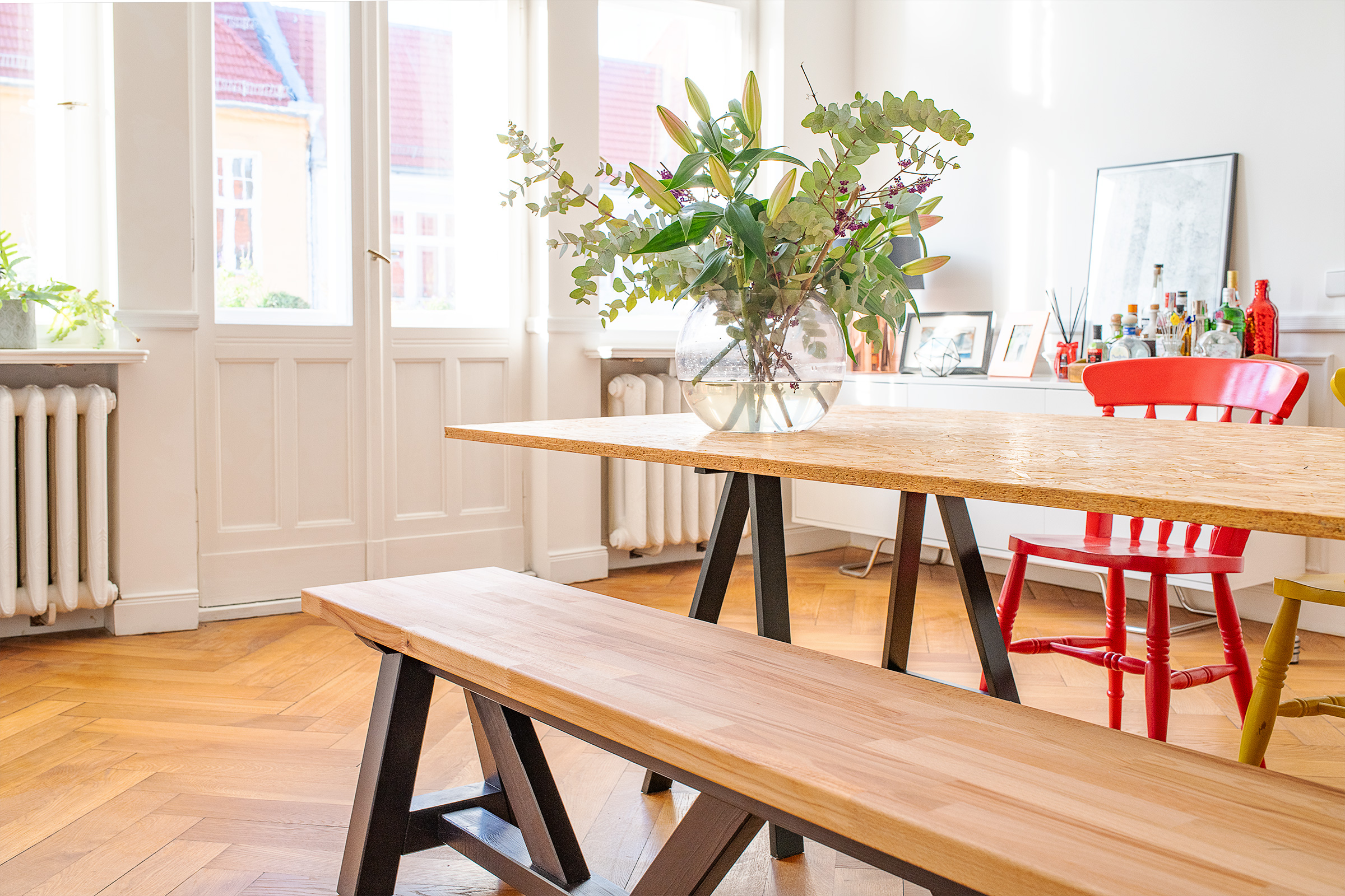 DIY Dining Room Bench | Little House On The Corner