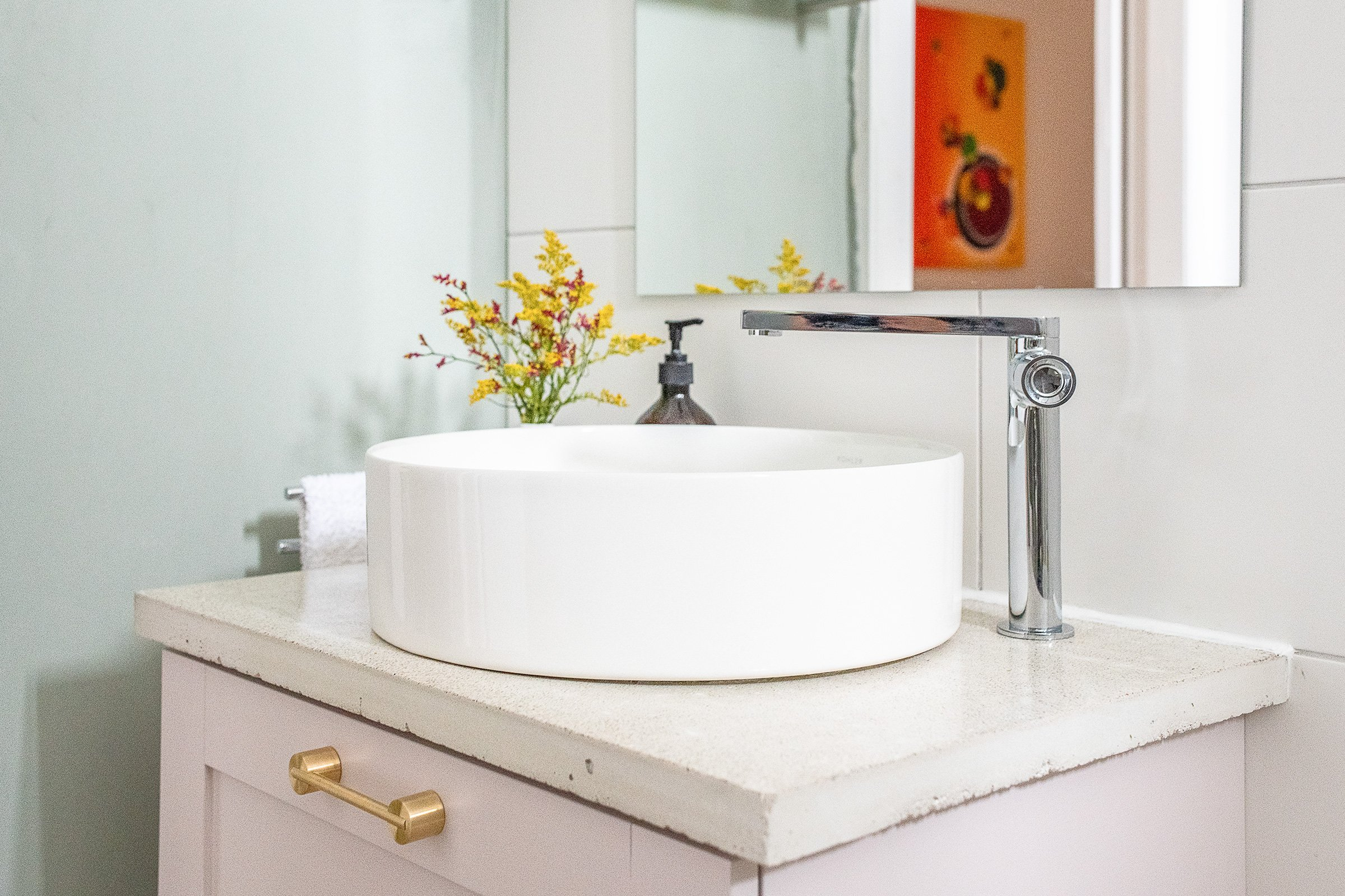 How To Install A Tap & Washbasin | Little House On The Corner