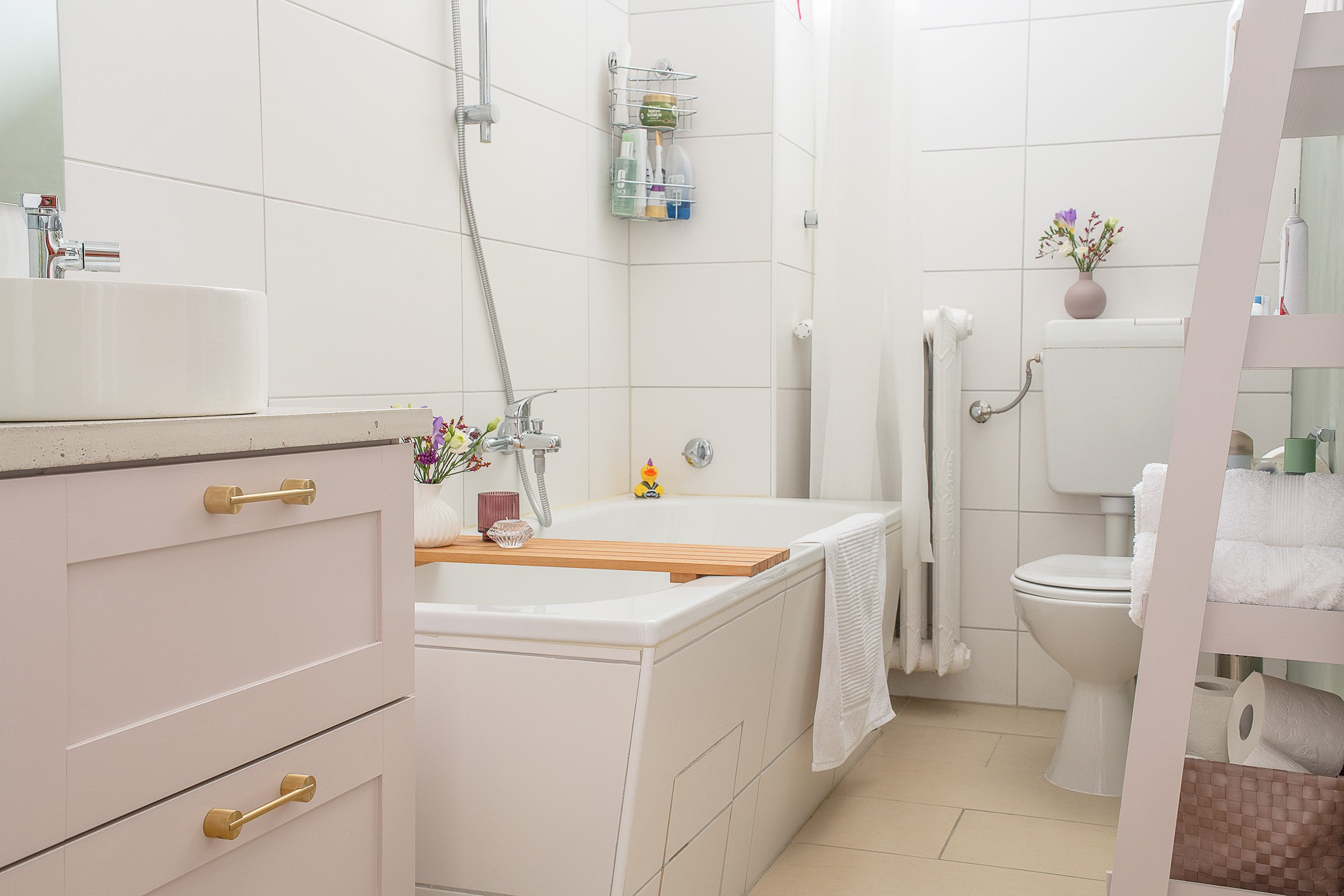 Bathroom Makeover with Kohler Mica Washbasin & Composed Tap | Little House On The Corner