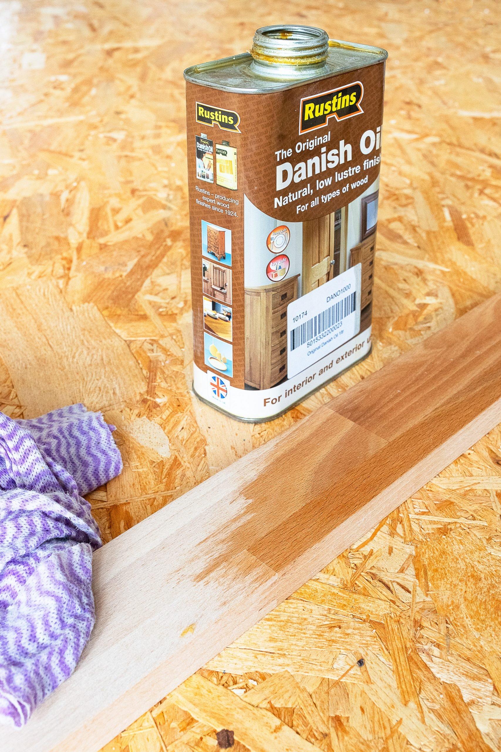 Using Danish Oil | Little House On The Corner