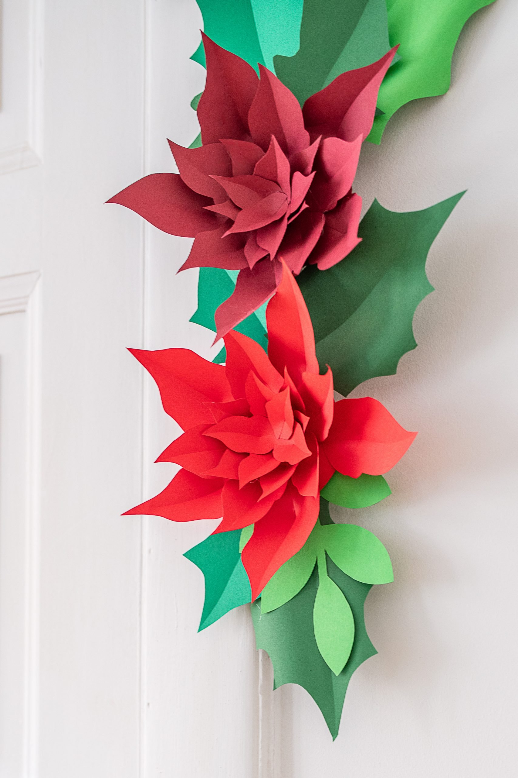 DIY Giant Paper Flower Garland