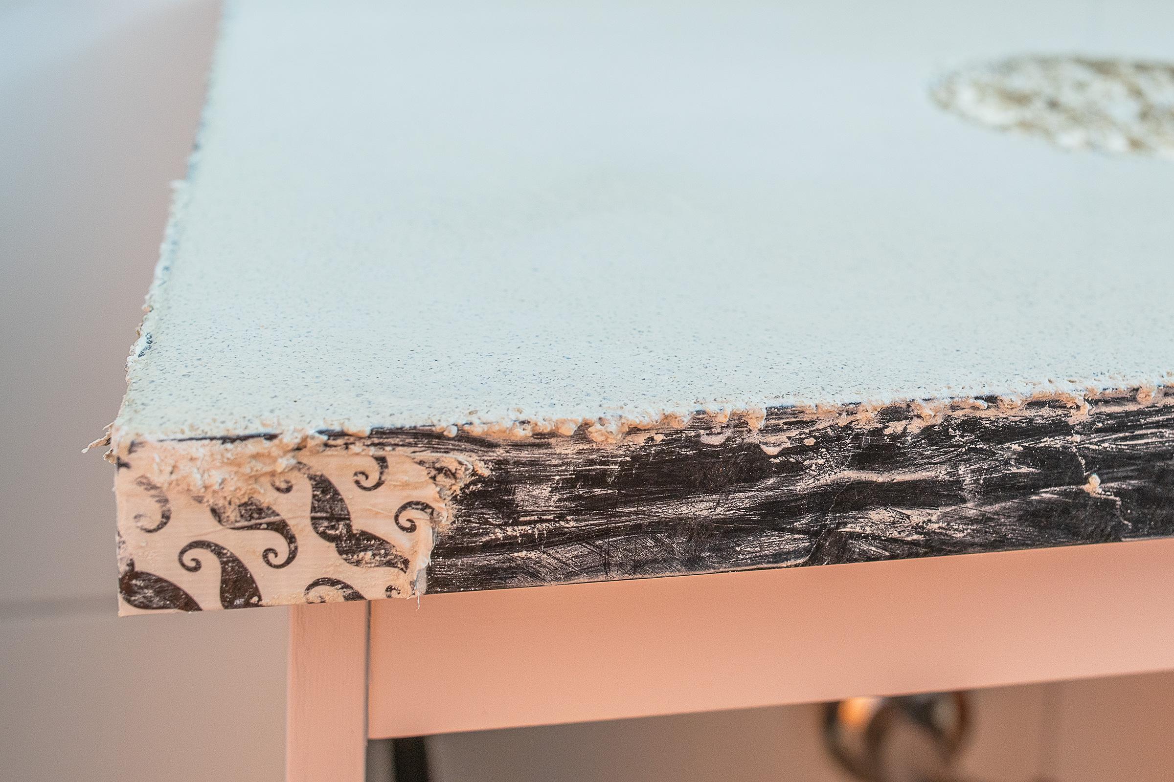 DIY Concrete Countertop | Little House On The Corner