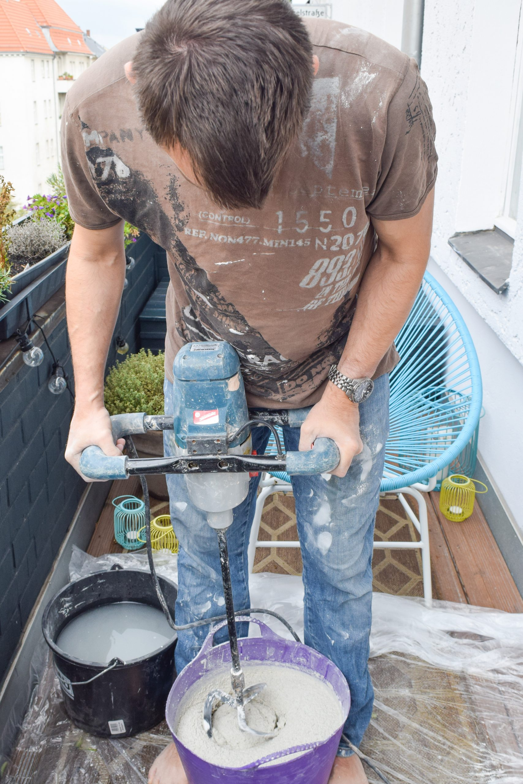 How To Build A Concrete Countertop | Little House On The Corner