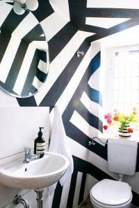 DIY Geometric Painted Walls | Little House On The Corner