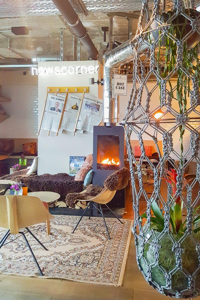 Lounge Area - 25Hours Hotel Bikini Berlin   Little House On The Corner
