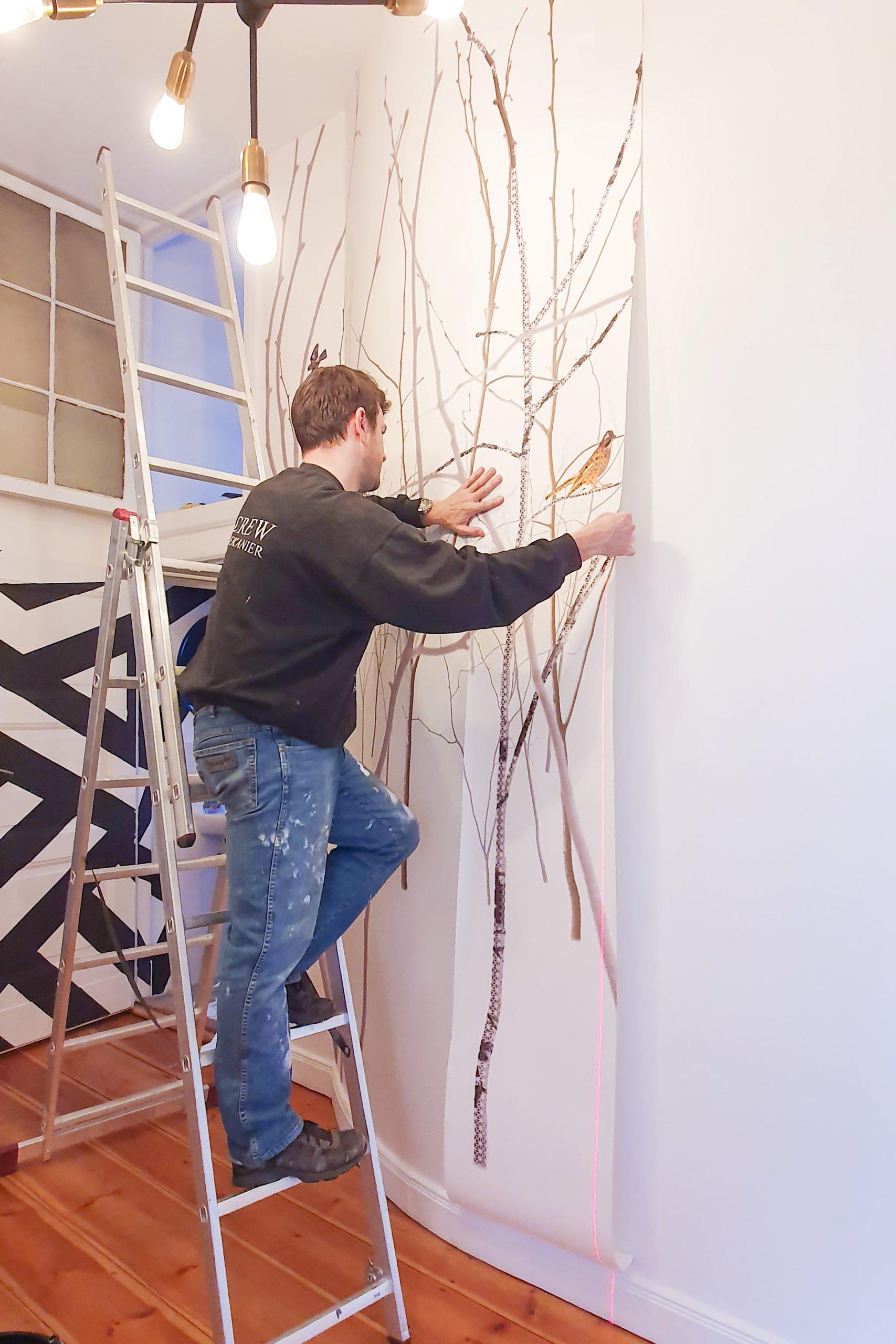 Repositioning Wallpaper | Little House On The Corner