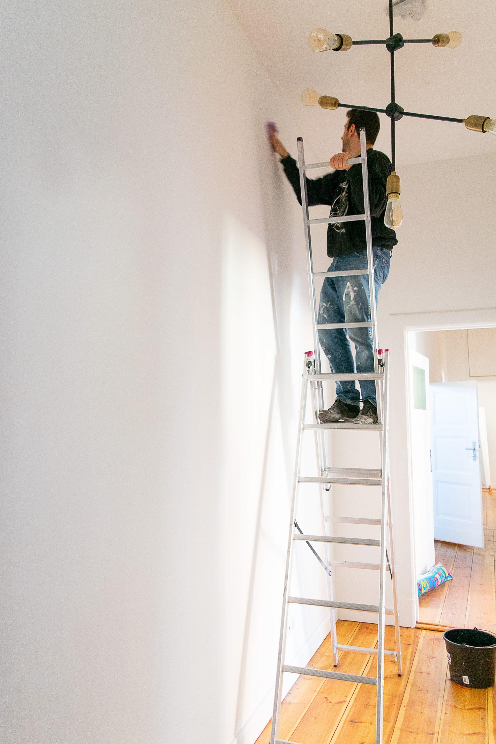 Preparing Walls for Wallpaper | Little House On The Corner