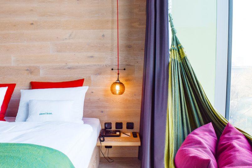 Jungle Room with Hammock - 25Hours Hotel Bikini Berlin   Little House On The Corner