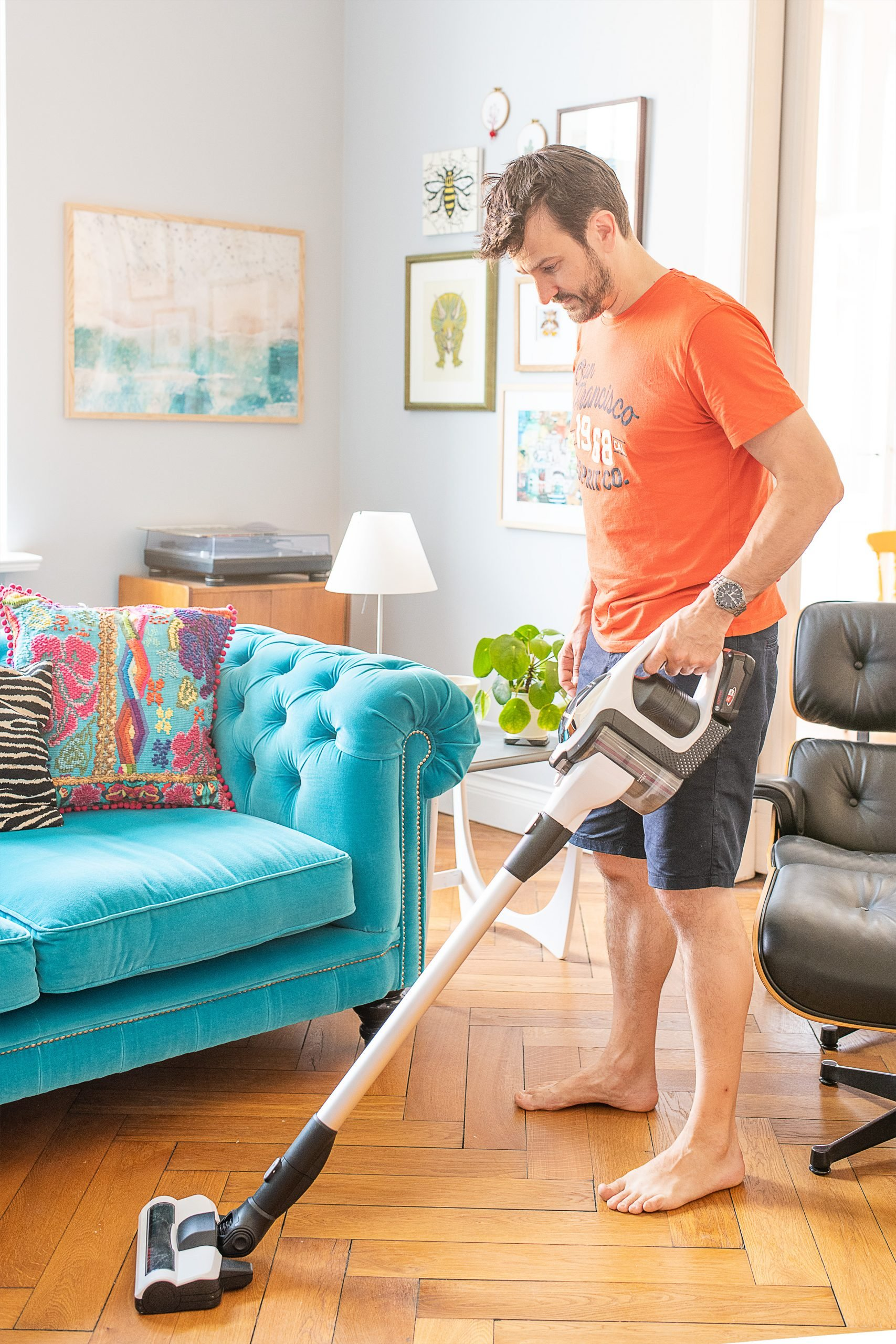Bosch Vacuum Cleaner with 18V Battery