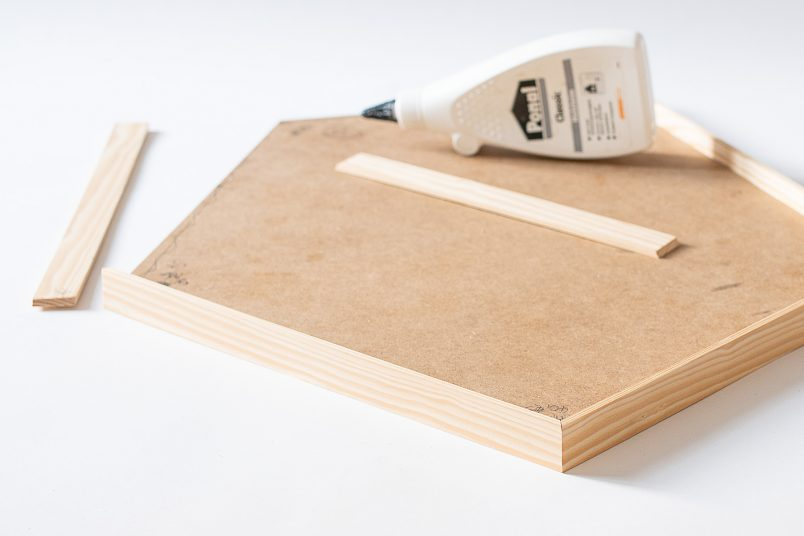 Cut Edges For Serving Tray