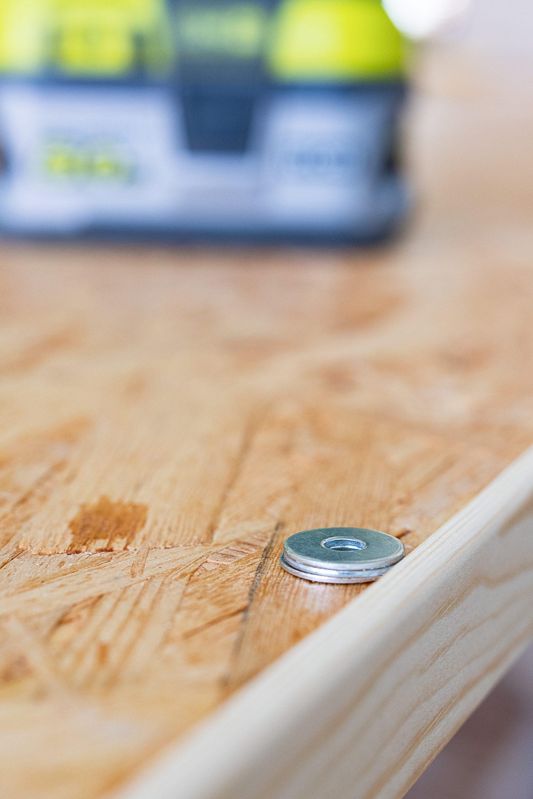 Adding Edging Strip To DIY Dining Table