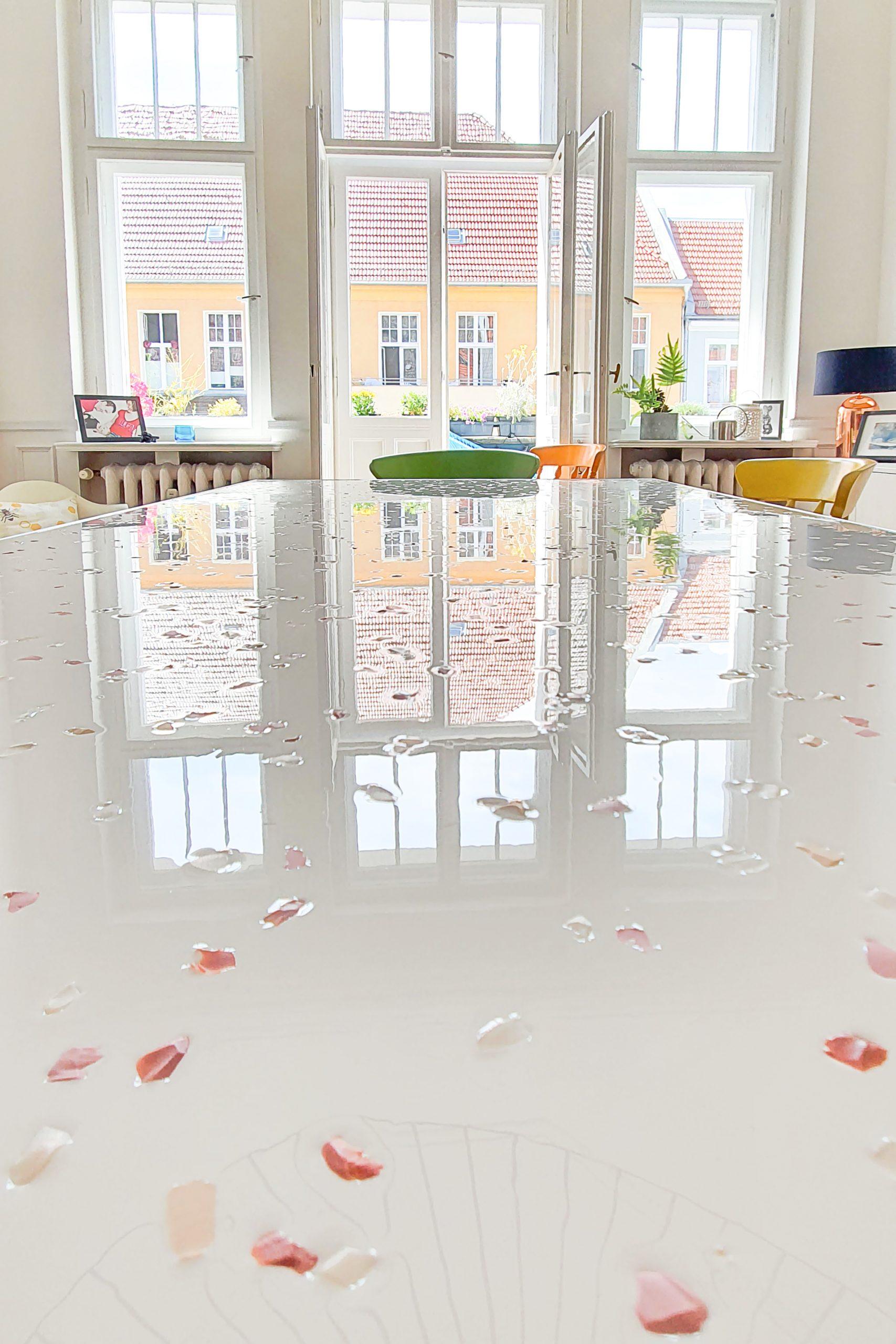 Fimo Terrazzo Table