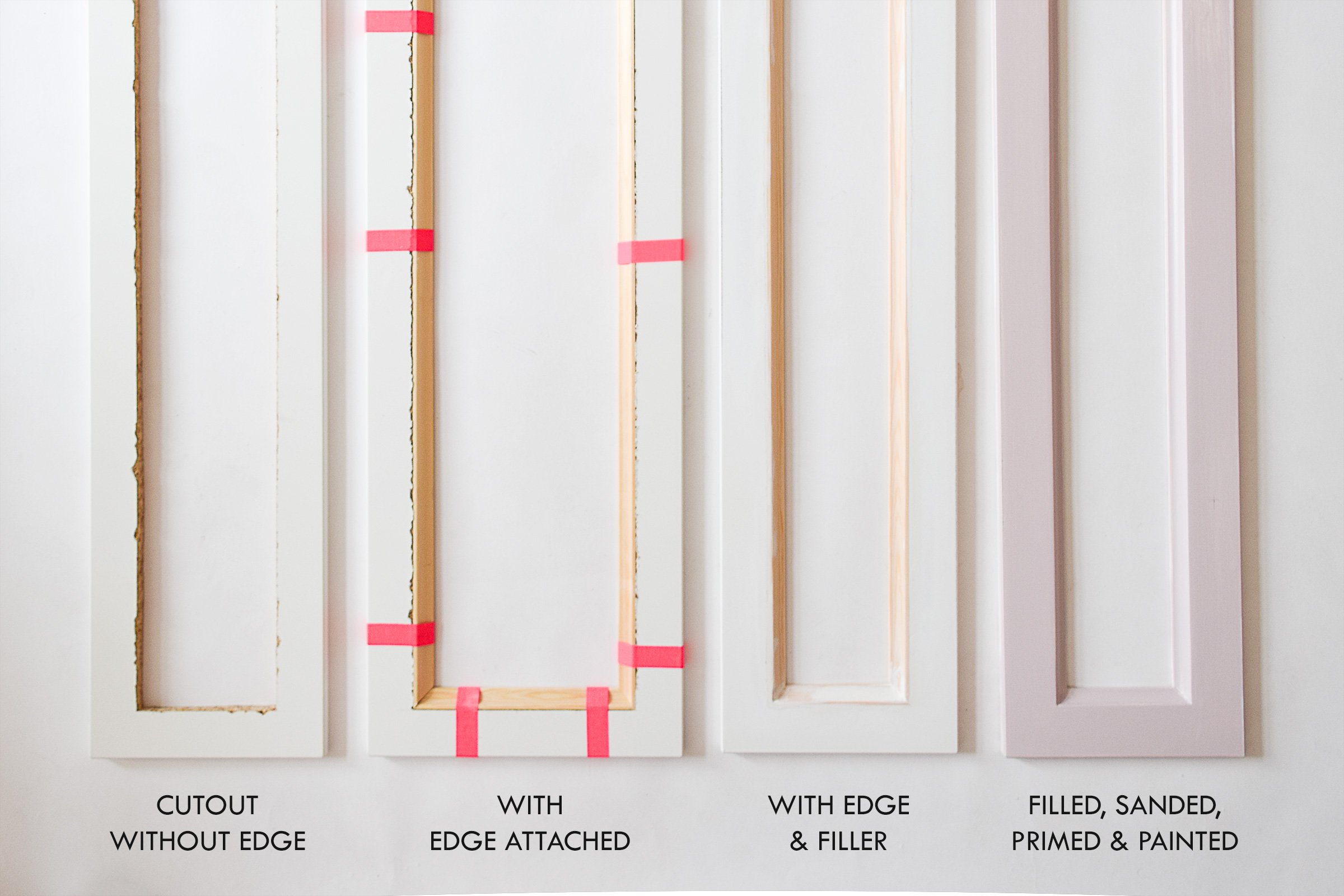 Ikea Hemnes Hack with Cane Webbing - Attach Edge | Little House On The Corner