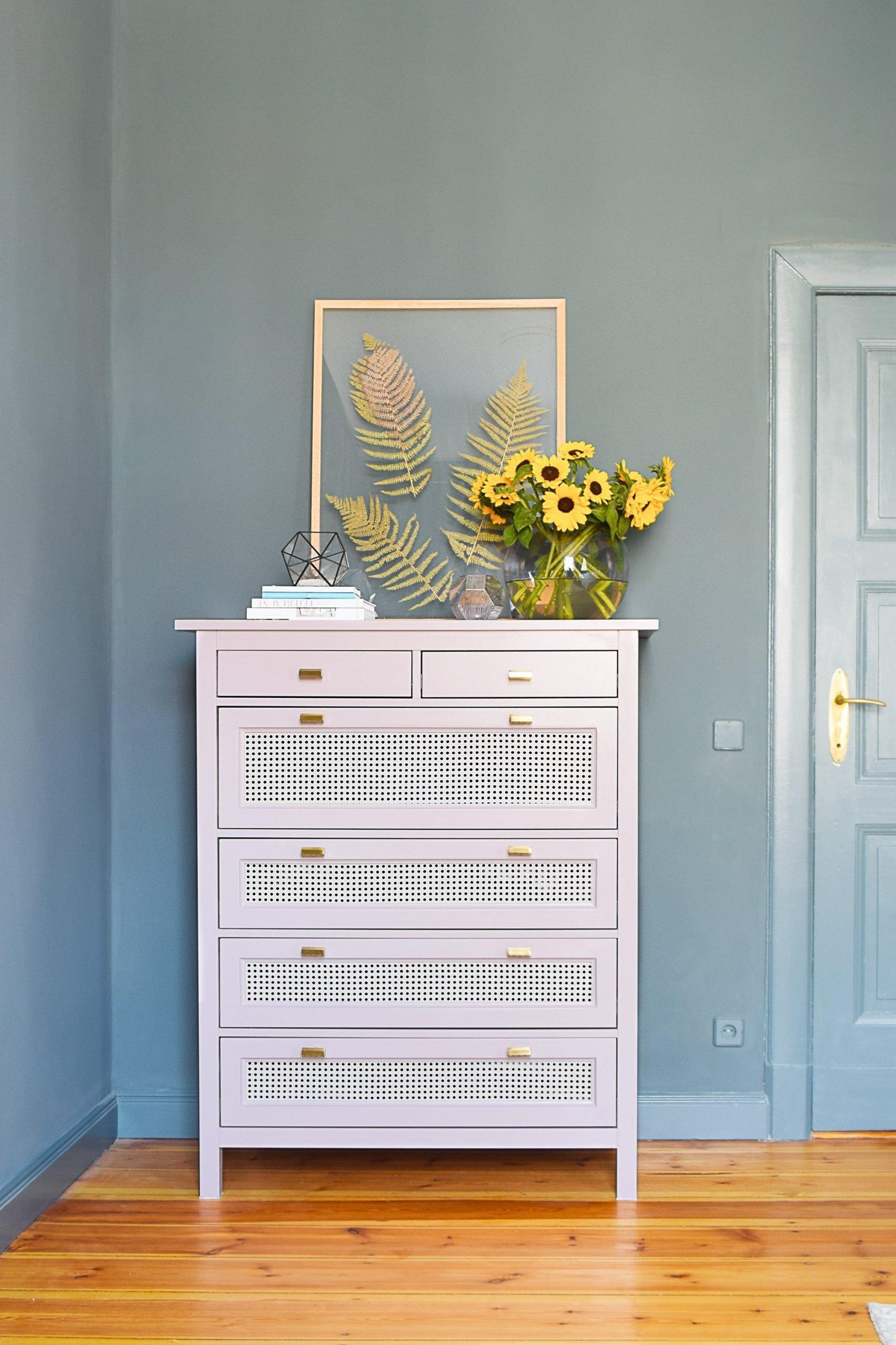 Hemnes Dresser With Cane Webbing Easy