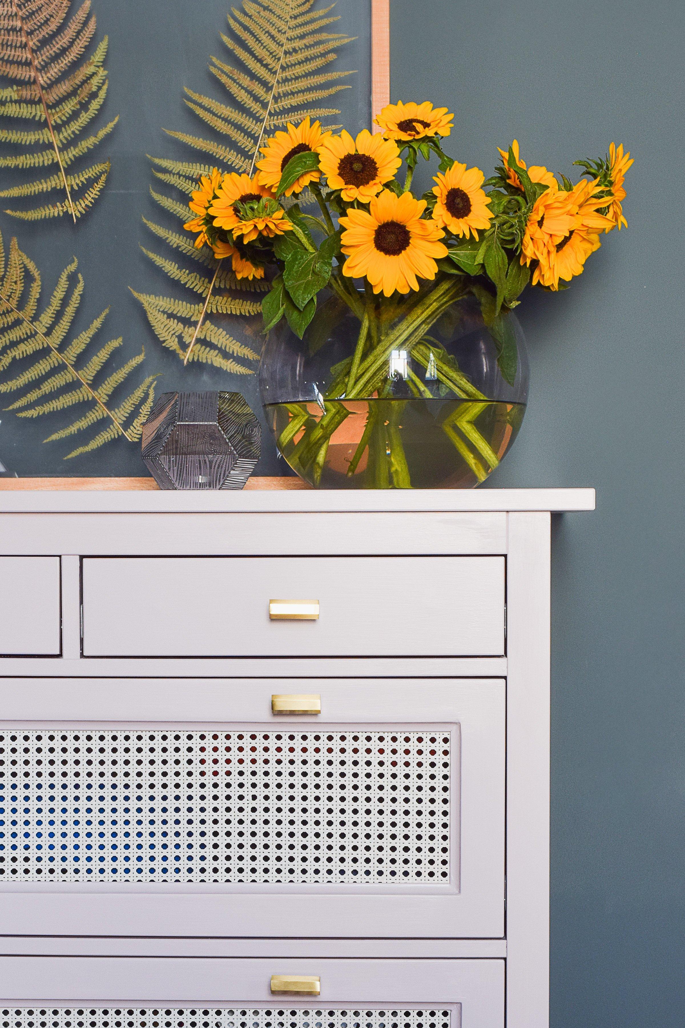 Ikea Hack - Hemnes Dresser With Cane Webbing - Little House