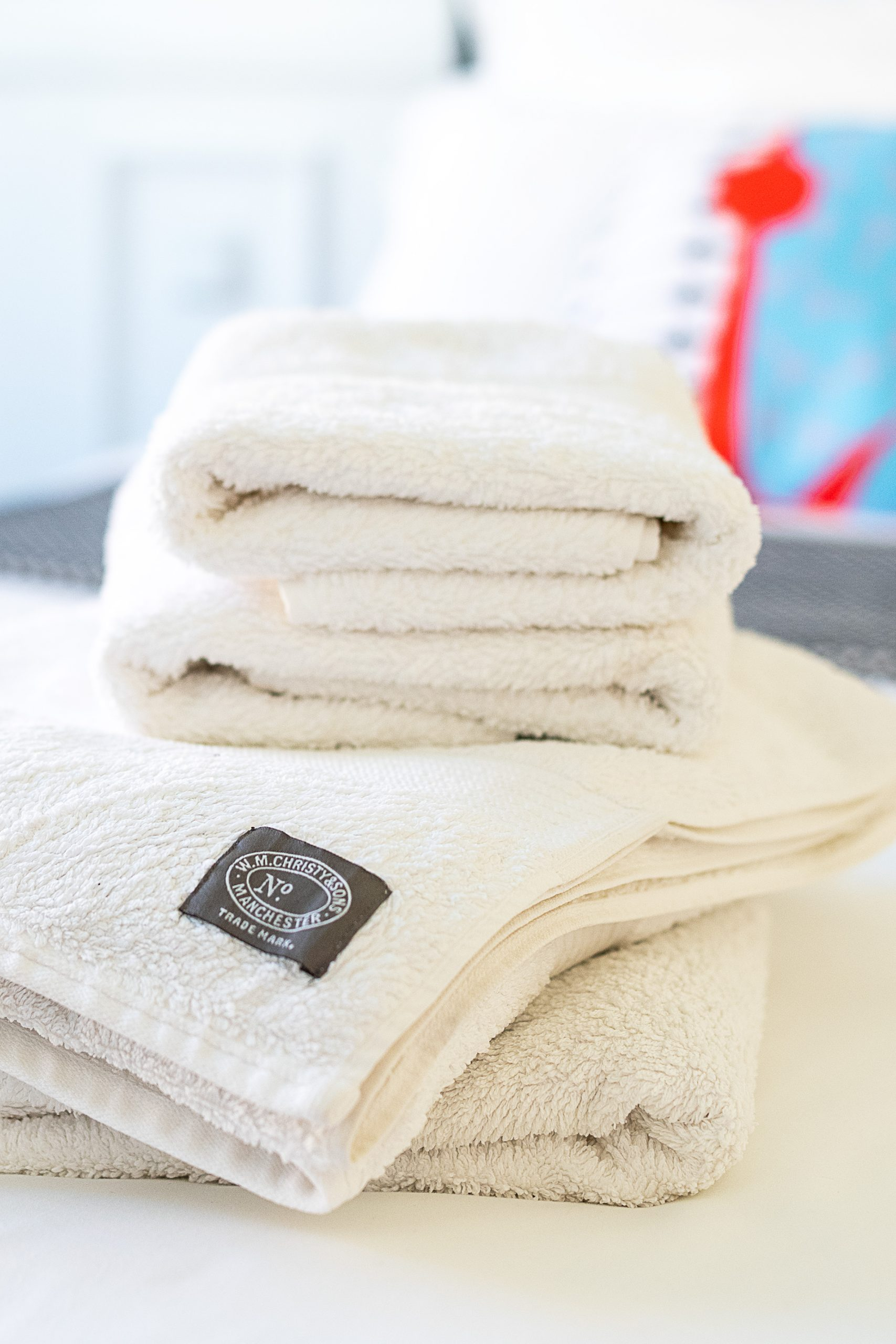 Guest Bedroom Essentials - Fluffy Towels