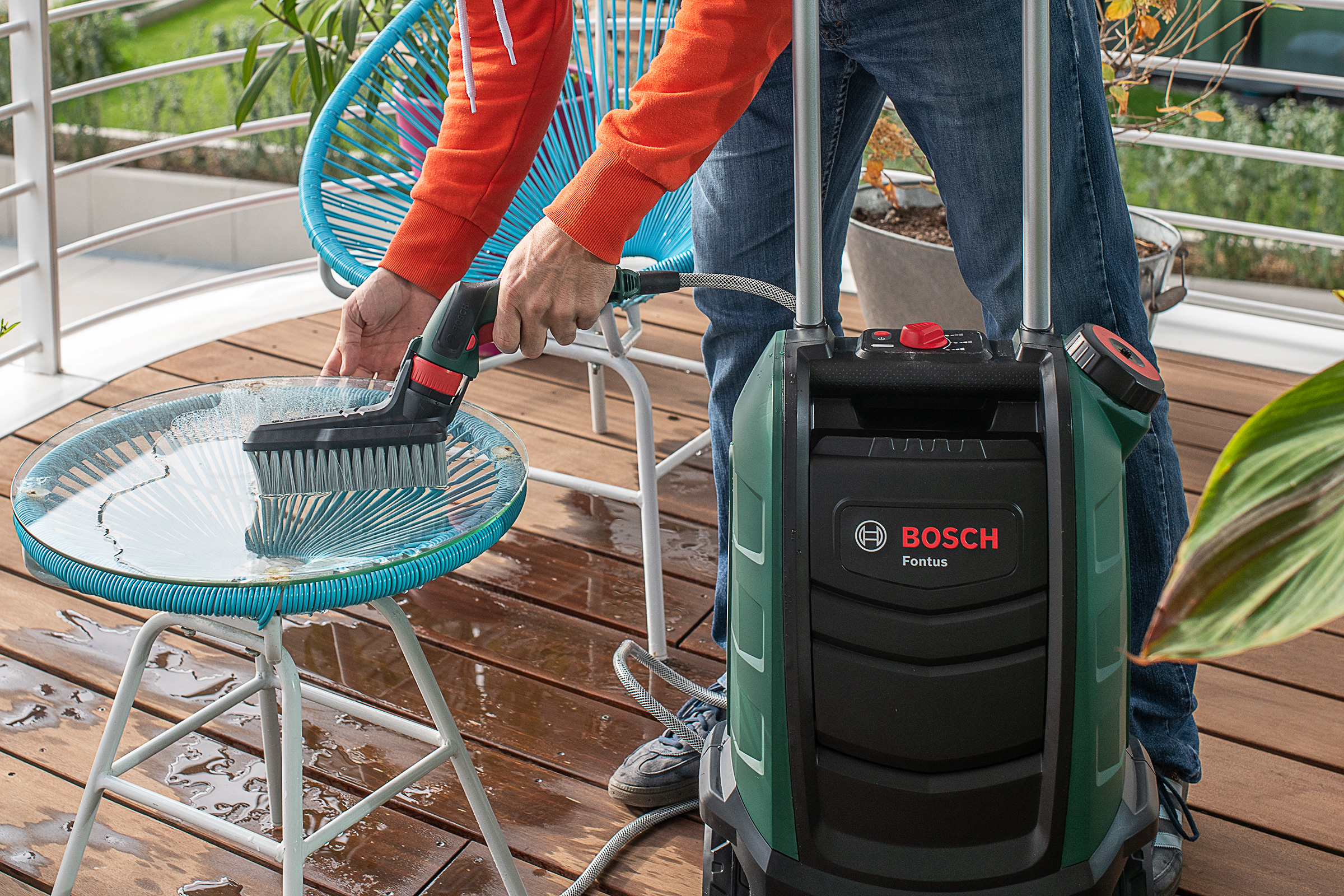 Autumn Outdoor Maintainance with Bosch