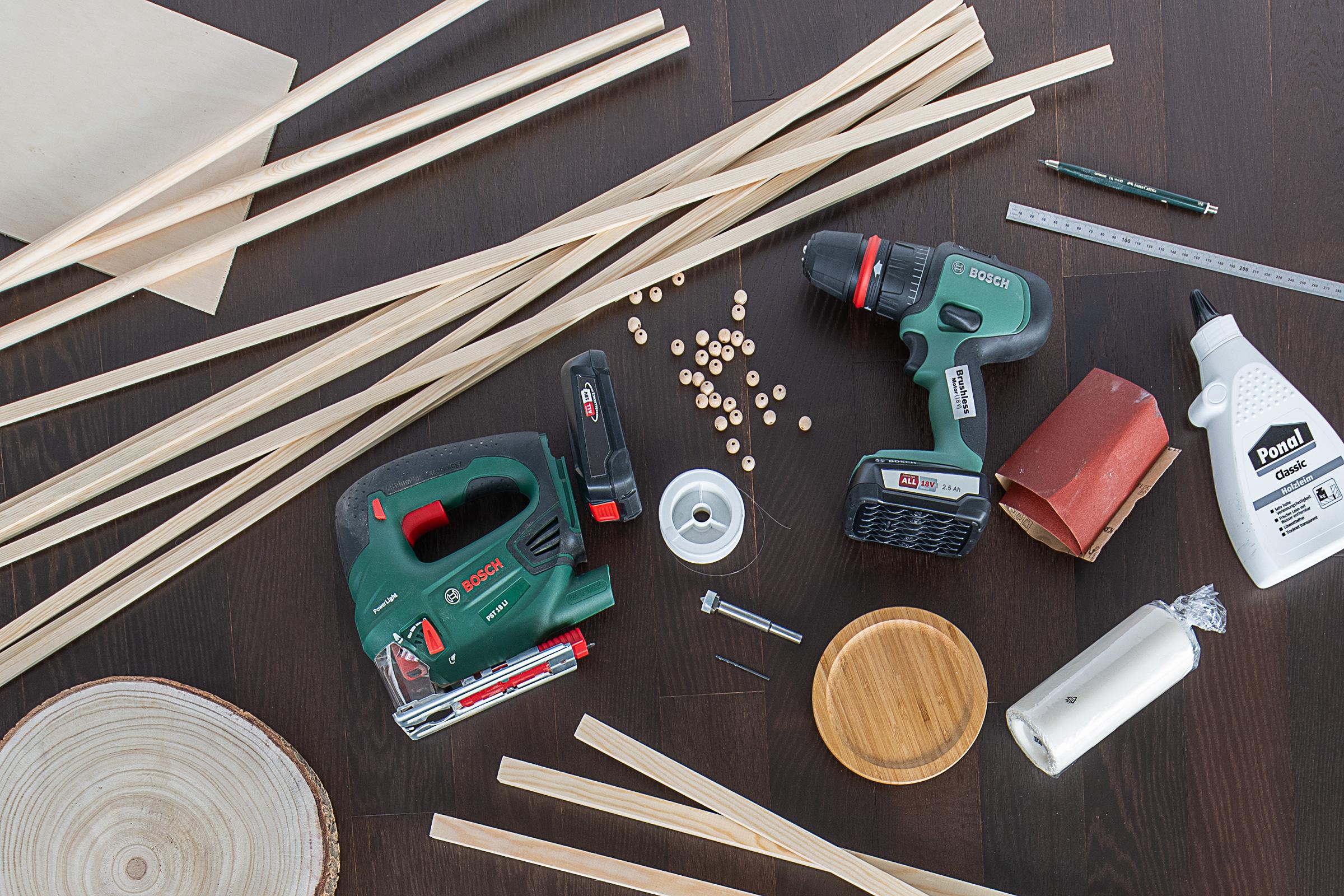 DIY Outdoor Lantern - Supplies