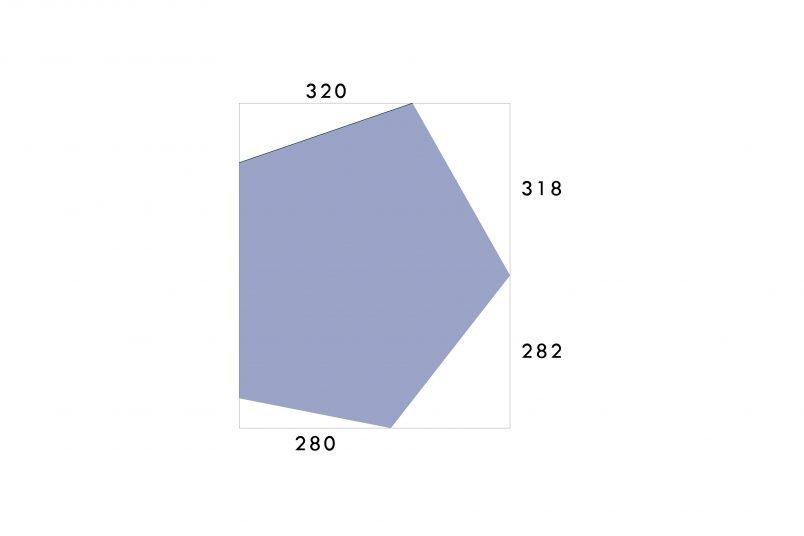 Geometric Tray - Measurements We Used