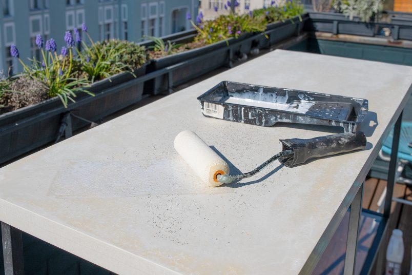 Sealing Concrete Top