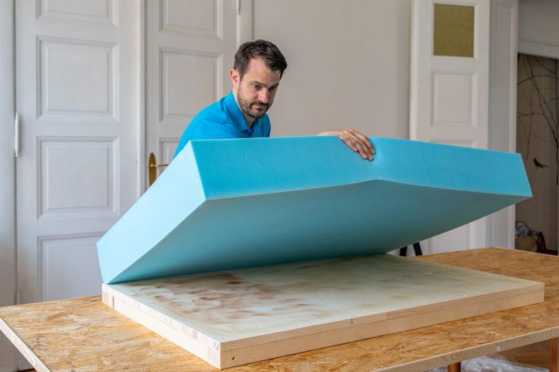 Adding Upholstery Foam