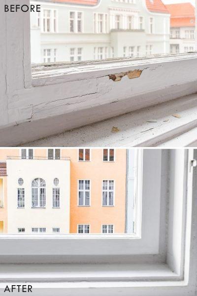 how to restore wooden windows