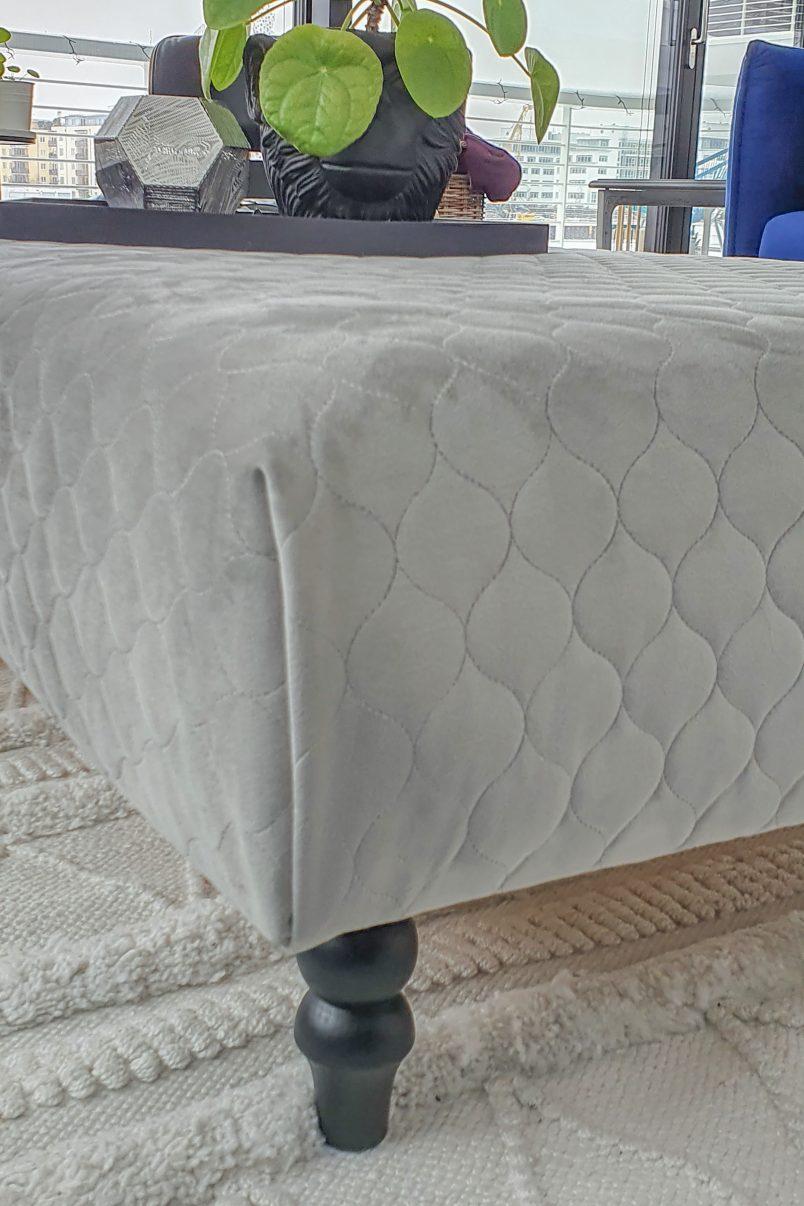 Upholstered Corner one fold