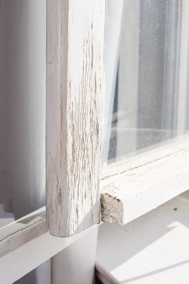 Wooden Window Before