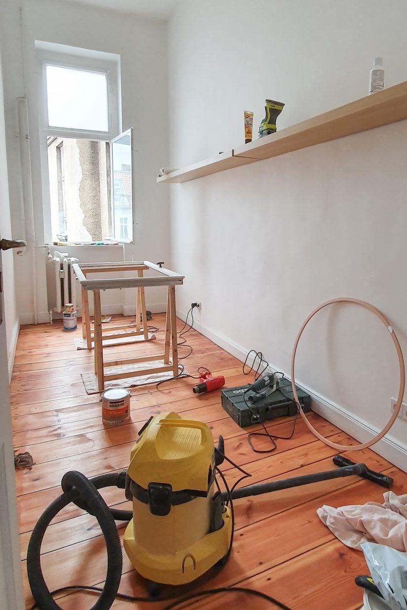 workroom for restoring windows