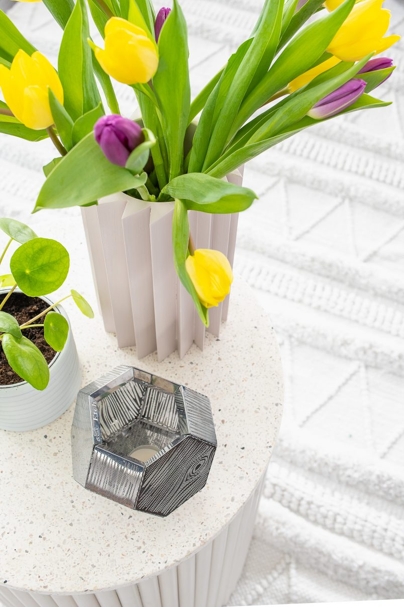 DIY Geometric Vase and Plant Pot - Little House On The Corner