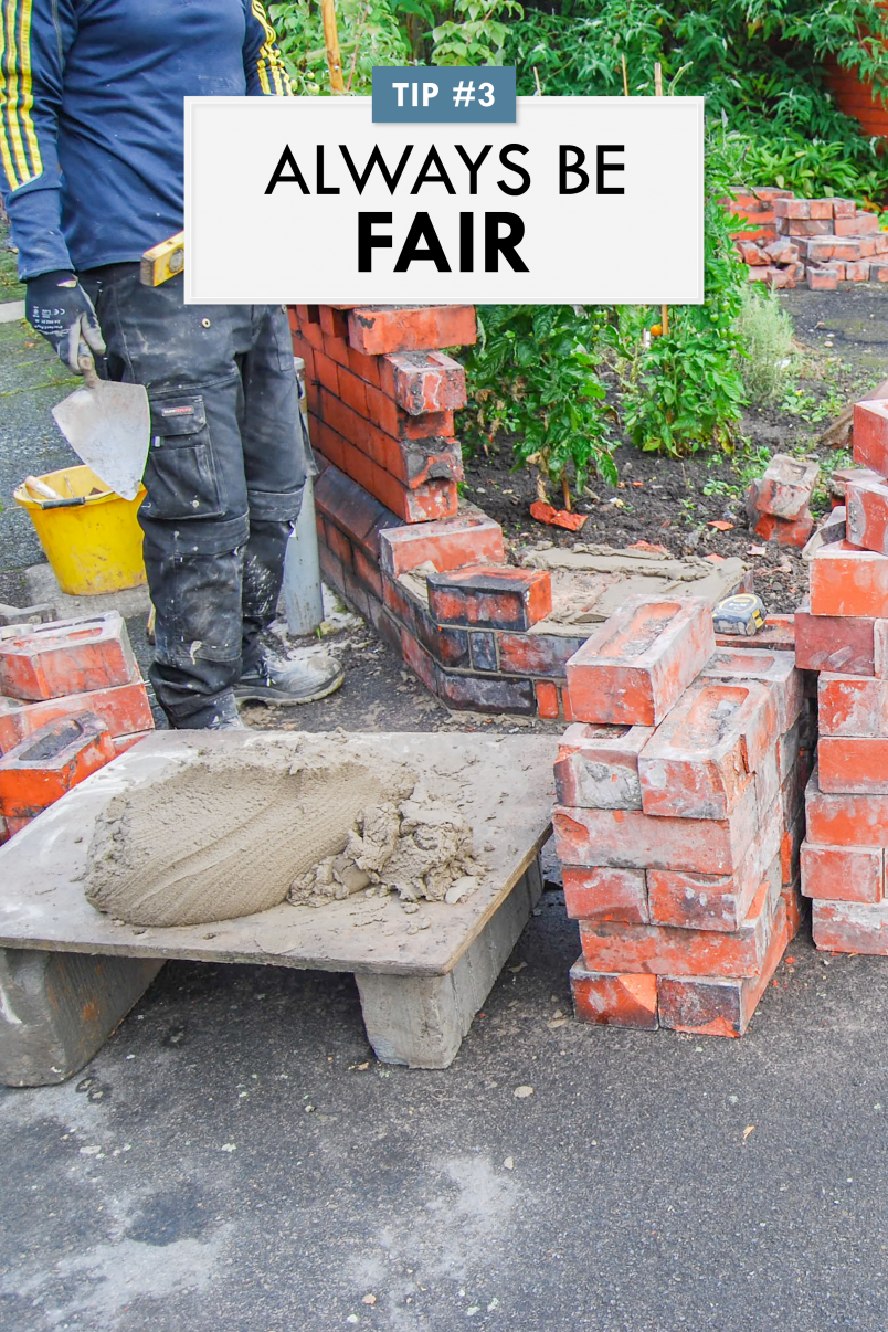 How To Negotiate With A Builder - Always Be Fair