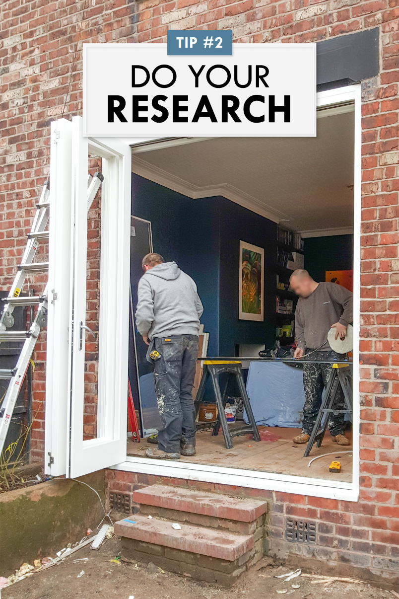 How To Negotiate With Your Builder - Do Your Research