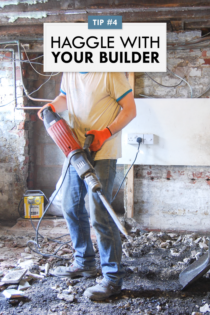 How To Negotiate With Your Builder - Haggle With Your Builder