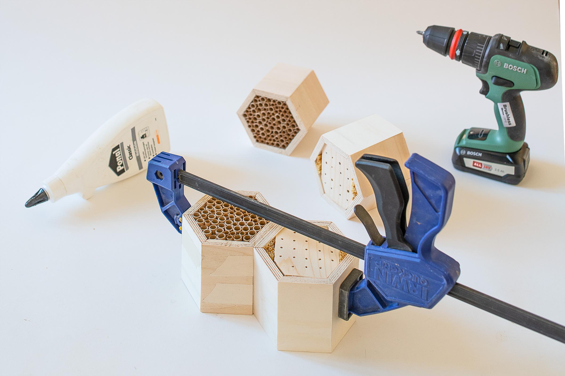 Assembling A DIY Bug Hotel