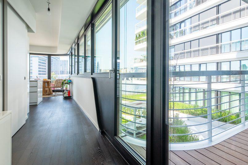 Berlin Apartment Hallway