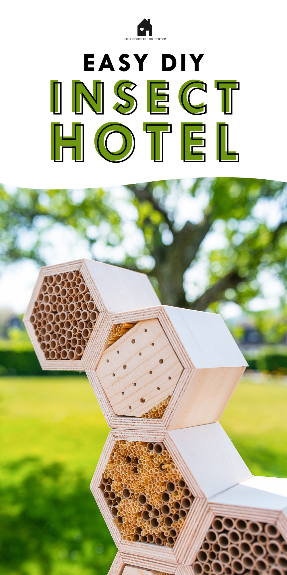 Easy DIY Insect Hotel
