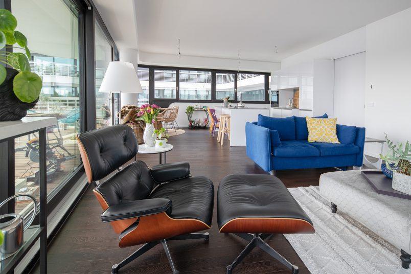 Livingroom in modern newbuild