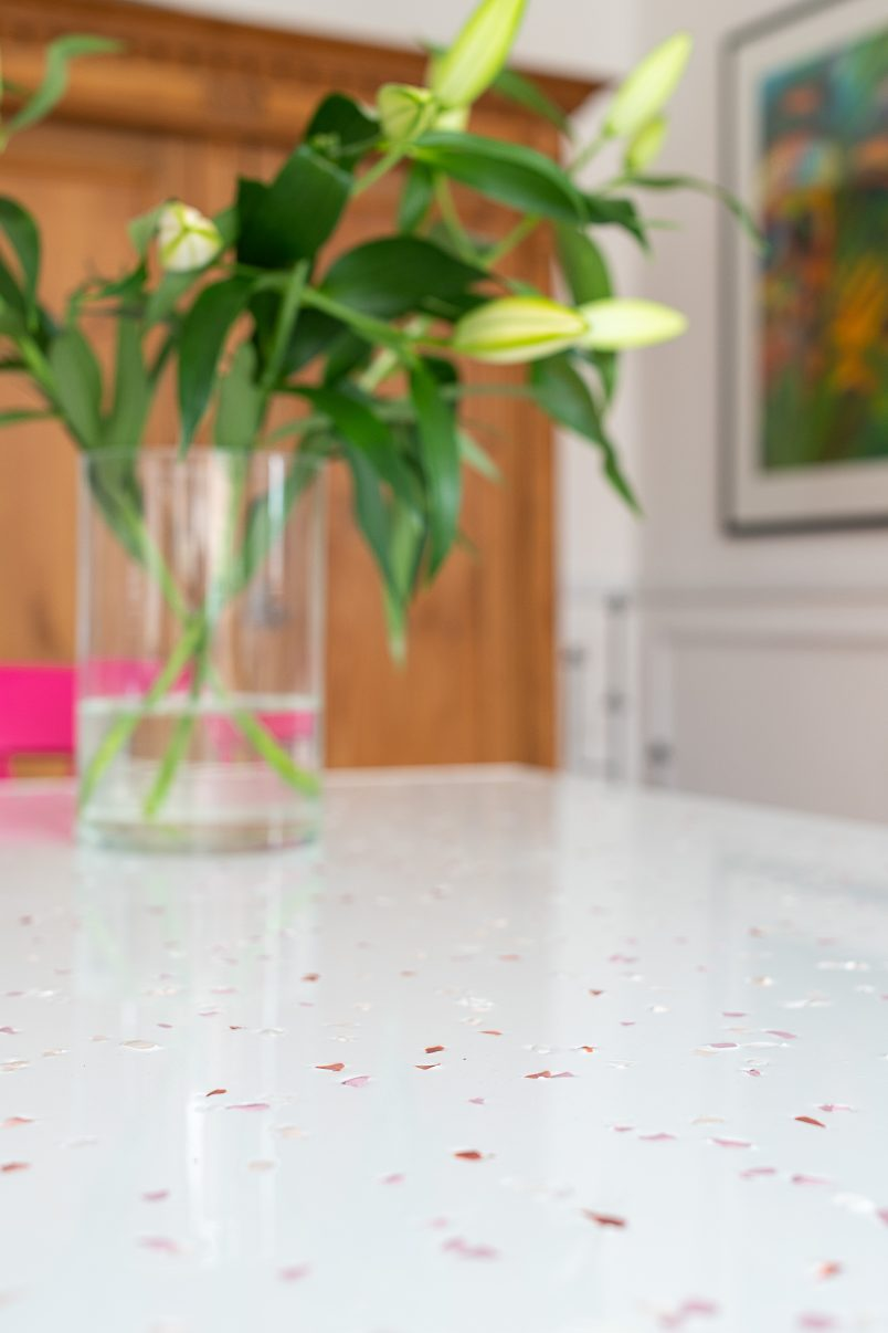 How To Make Your Own Terrazzo Resin Table