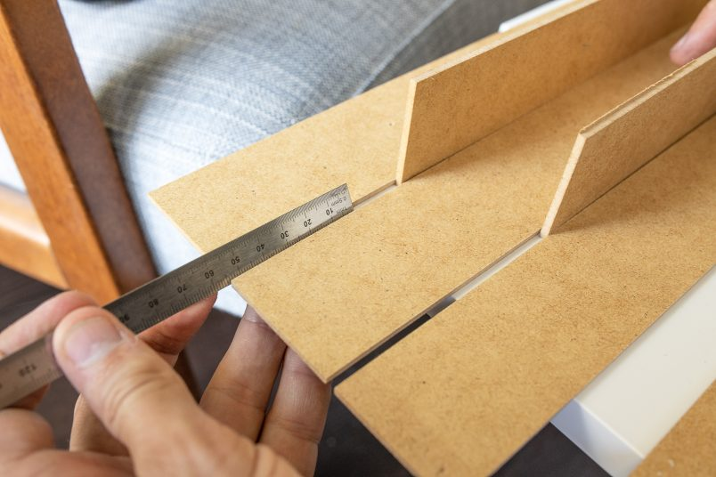 How to keep an equal distance between cladding pieces - Copy
