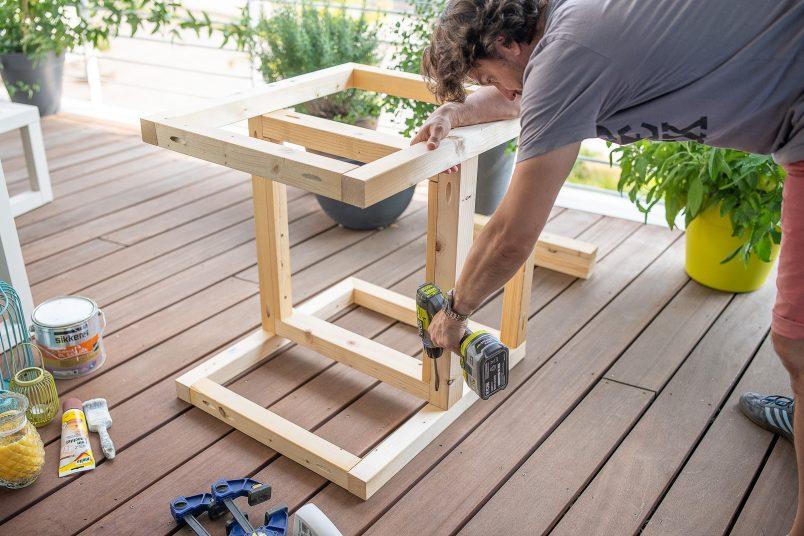 build your own garden furniture