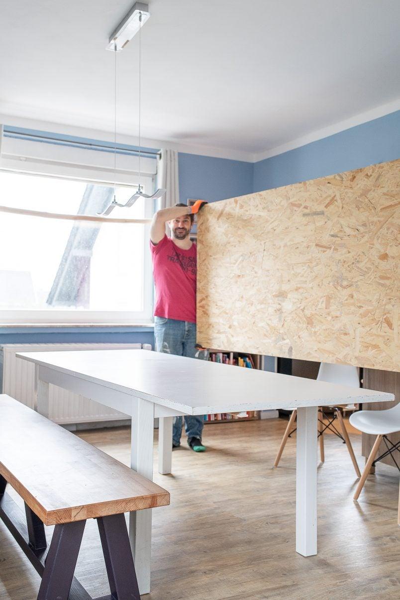 DIY Resin Table - The Base