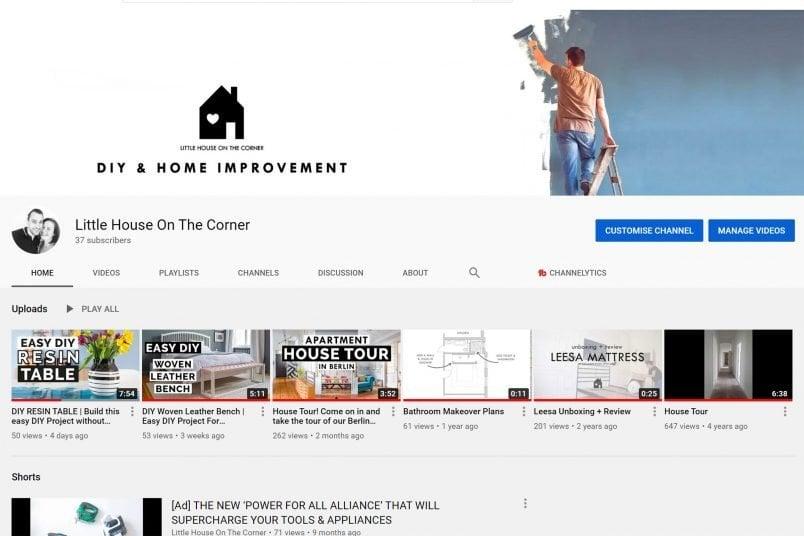 Follow Little House On The Corner On YouTube