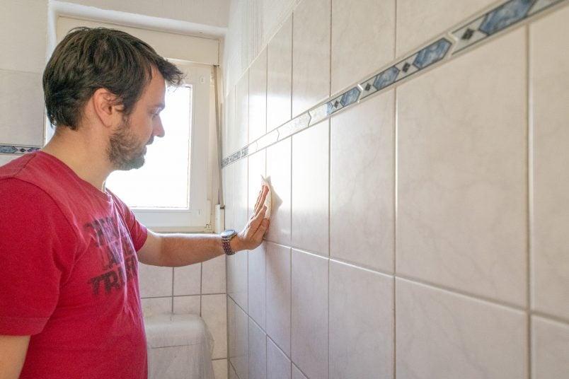 Painting Tiles Prep Work